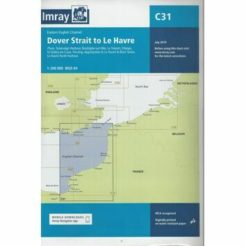 Imray Chart C31: Dover Strait to Le Havre