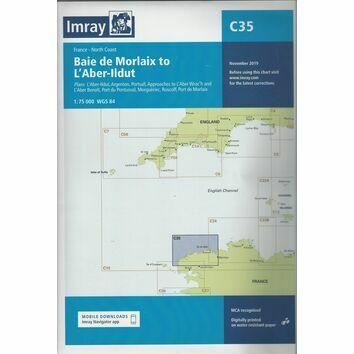 Imray Chart C35: Baie de Morlaix to L'Aber-Ildut