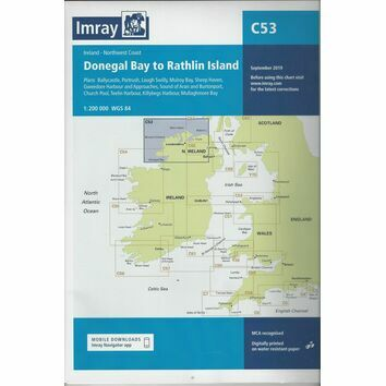 Imray Chart C53: Donegal Bay to Rathlin Island