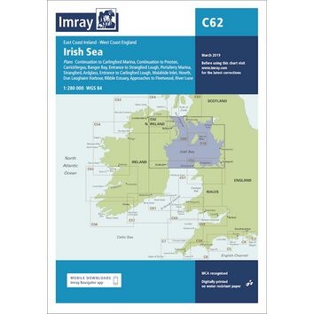 Imray Chart C62: Irish Sea