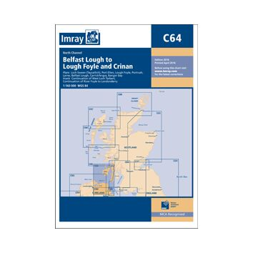 Imray Chart C64: Belfast Lough to Lough Foyle and Crinan