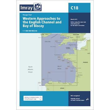 Imray C18 Western Approaches to the English Channel & Bay of Biscay