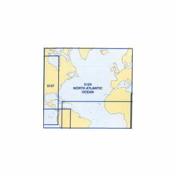 5124 (12) December - North Atlantic Admiralty Chart