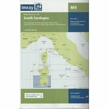 Imray Chart M9: South Sardegna