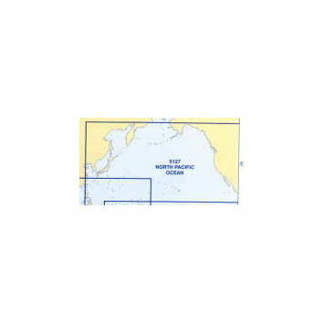 5127 (3) March - North Pacific Ocean Admiralty Chart