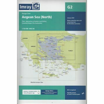 Imray G2 Aegean Sea (North) Passage Chart