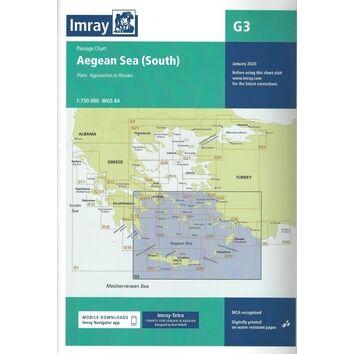 Imray G3 Aegean Sea (South) Passage Chart