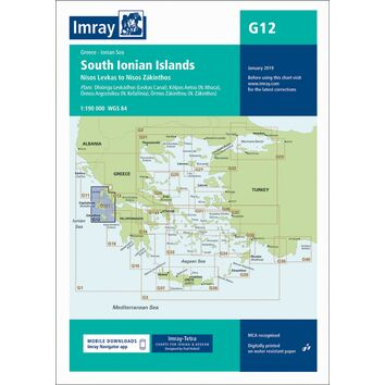 Imray Chart G12: South Ionian Islands