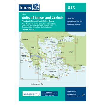 Imray Chart G13: Gulfs of Patras and Corinth
