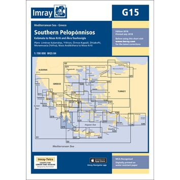 Imray Chart G15: Southern Peloponnisos