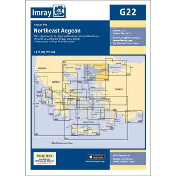 Imray Chart G22: Northeast Aegean Sea