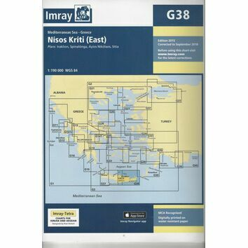 Imray Chart G38: Nisos Kriti (East)