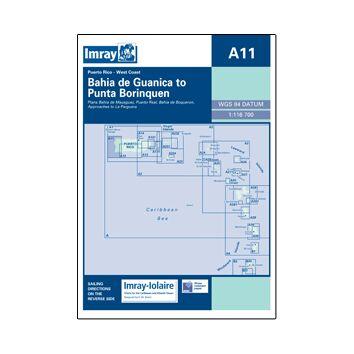 Imray Chart A11: Bahia de Guanica to Punta Borinquen