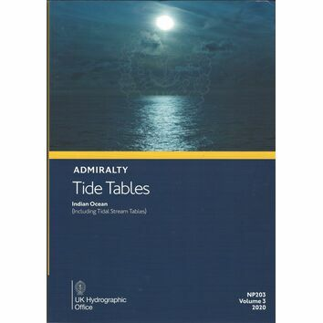 Admiralty Tide Tables 2020 : Indian Ocean NP203 (Vol 3)