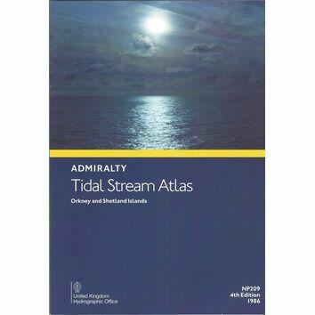 Admiralty NP209 Tidal Stream Atlas: Orkney & Shetland Islands