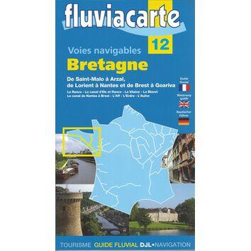 Fluviacarte No. 12. Canal du Bretagne Guide