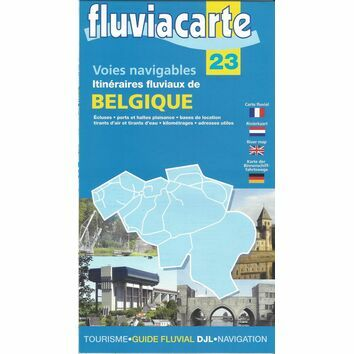 Imray Fluviacarte 23: Carte de Belgique - Waterways of Belgium
