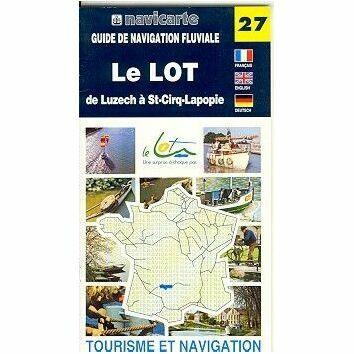 Imray Fluviacarte 27: Le Lot - Luzech to St-Cirq-Lapopie