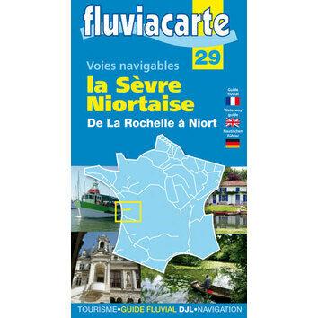 Imray Fluviacarte 29: La Sevre Niortaise