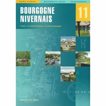 Imray Editions Du Breil No. 11 Bourgogne / Nivernais Waterway Guide