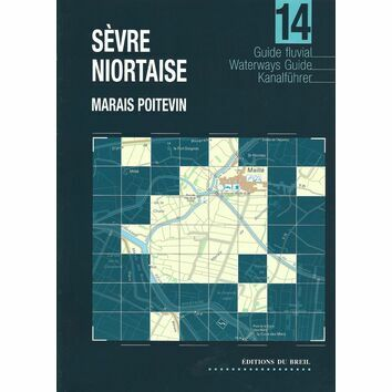 Imray Editions Du Breil No. 14 Sevre Noirtaise Waterway Guide
