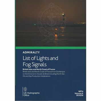 Admiralty NP74 List of Lights & Fog Signals (Volume A)