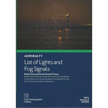 Admiralty NP74 List of Lights & Fog Signals (Volume A)