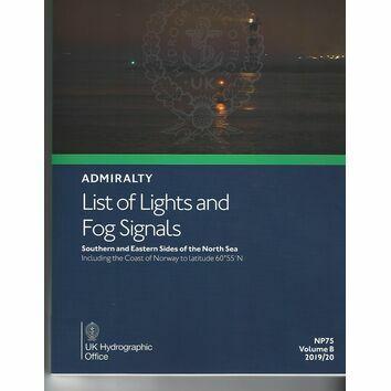 Admiralty NP75 List of Lights & Fog Signals (Volume B)