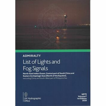 Admiralty NP79 List of Lights & Fog Signals (Volume F)