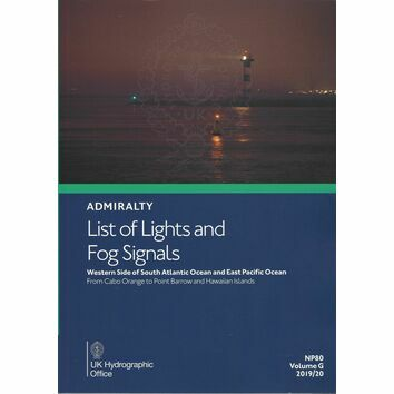 Admiralty NP80 List of Lights & Fog Signals (Volume G)
