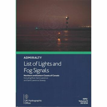 Admiralty NP81 List of Lights & Fog Signals (Volume H)