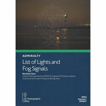 Admiralty NP84 List of Lights & Fog Signals (Volume L)