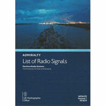 Admiralty NP281(2) List of Radio Signals (Volume 1 - Part 2)