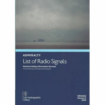 Admiralty NP283(2) List of Radio Signals (Volume 3 - Part 2)