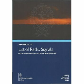 Admiralty NP285 List of Radio Signals (Volume 5)