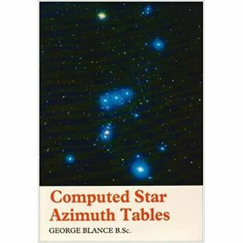 Imray Computed Star Azimuth Tables (40-60N)
