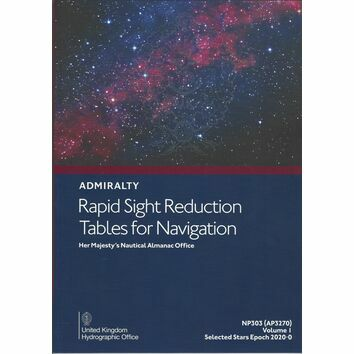 Admiralty NP303 (AP3270) Rapid Sight Reduction Tables for Navigation (Volume 1)