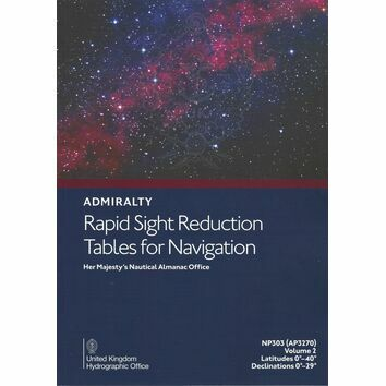 Admiralty NP303 (AP3270) Rapid Sight Reduction Tables for Navigation (Volume 2)