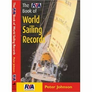 RYA Book of World Sailing Records (fading to cover)