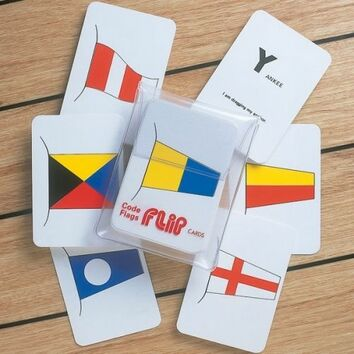 Marine Flip Cards Code Flags - Navigation Aids