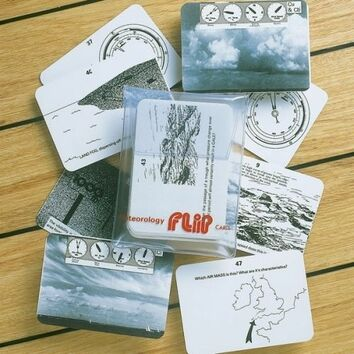 Marine Flip Cards Meteorology - Navigation Aids