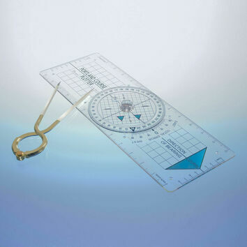 Blundell Harling Portland Course Plotter/Dividers Kit
