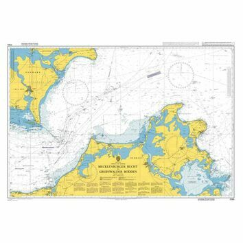 Admiralty Chart 2944 Baltic Sea - Germany and Denmark