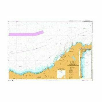 141 Morocco-North Coast , Approaches to Tanger-Mediteranee Admiralty Chart
