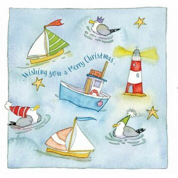 Emma Ball Ahoy! Christmas Cards - Various Designs