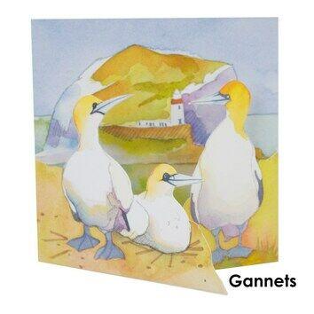 Emma Ball Coastal Die Cut Cards - Various Designs