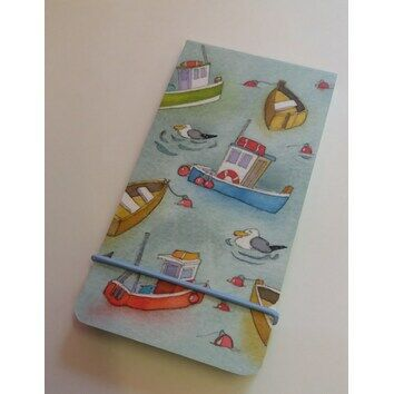 Emma Ball Small Notepad Boats Afloat