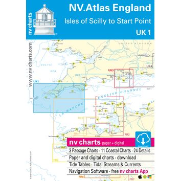 NV Atlas England UK1: Isles of Scilly to Start Point