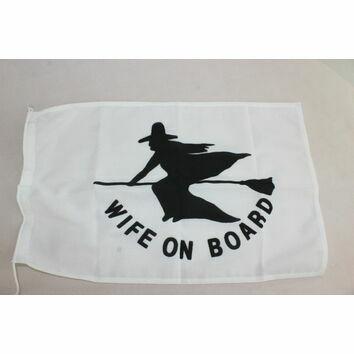 Meridian Zero Wife On Board Courtesy Flag