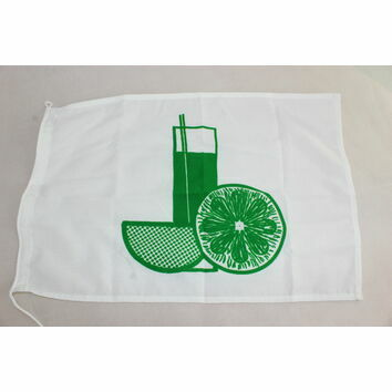 Meridian Zero 'Drinking A Cocktail' Novelty Flag - 30 x 45cm